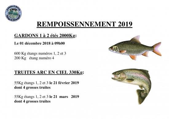 Rempoissonnement 2019 2